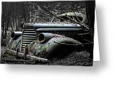 Oldsmobile 3 Greeting Card