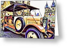 Oldtimer 2 Greeting Card