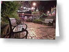 Oldtown Auburn Park  Greeting Card