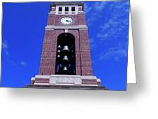 Ole Miss Bell Tower Greeting Card