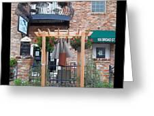 Olive Affairs Restaurant Greeting Card