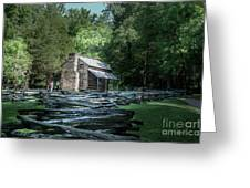 Oliver Cabin Greeting Card