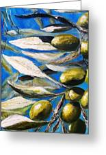 Olives Extract Greeting Card