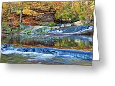 Olmsted Waterfalls Greeting Card