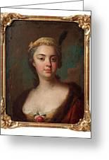 Olof Arenius, Ulrika Eleonora Ribbing Af Zernava 1723-1787 Greeting Card