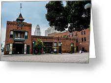 Olveria Street No 1 Fire House Greeting Card