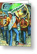 Olympia Brass Band Greeting Card