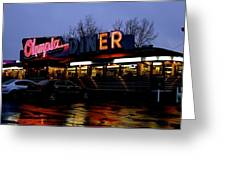 Olympia Diner Greeting Card