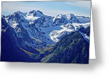 Olympic Mountains Greeting Card
