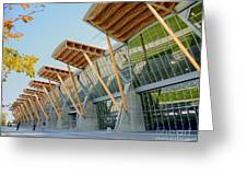 Olympic Oval Greeting Card