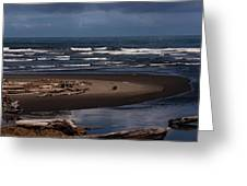 Olympic Peninsula Beach Greeting Card