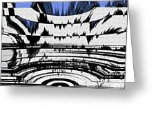 Olympics Abstract Greeting Card