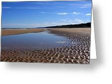 Omaha Beach, Normandy, France. Greeting Card