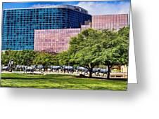 Omni Hotel Dallas Texas Greeting Card