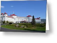 Omni Mount Washington Resort Greeting Card