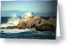 On A Clear Day Cropped Greeting Card