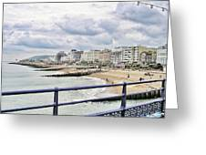 On Brighton's Palace Pier Greeting Card