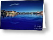On Crater Lake Greeting Card