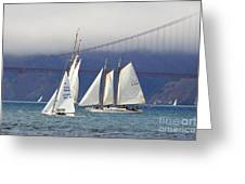 On Frisco Bay Greeting Card