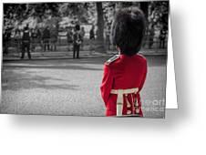 On Guard Greeting Card