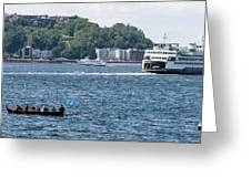 On Puget Sound Greeting Card