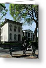 On Riverside Drive Greeting Card by Mel Steinhauer