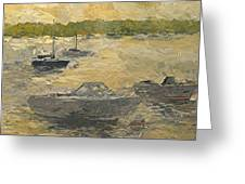 On The Bay Greeting Card