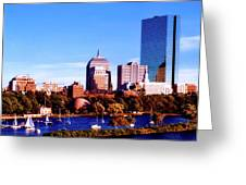 On The Charles Greeting Card