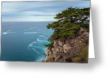 On The Cliff - Horizontal Greeting Card