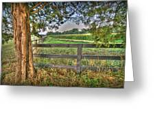 On The Farm Greeting Card