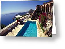 On The French Riviera Greeting Card