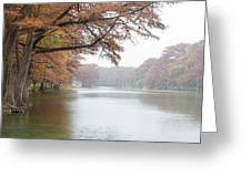 On The Frio River Greeting Card