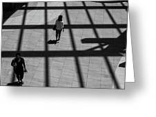 On The Grid Greeting Card