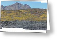 On The Matanuska Glacier Greeting Card
