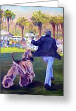 On The Move Greeting Card by Terry  Chacon