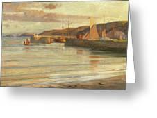 On The North Devon Coast Greeting Card