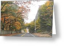 On The Road Greeting Card