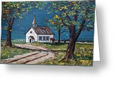 On The Road Home Greeting Card by Raymond Edmonds