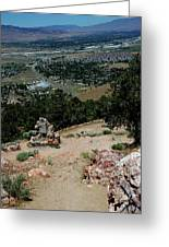 On The Road To Virginia City Nevada 15 Greeting Card
