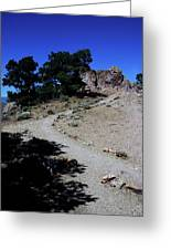 On The Road To Virginia City Nevada 16 Greeting Card