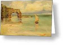 On The Shore Greeting Card by Tigran Ghulyan