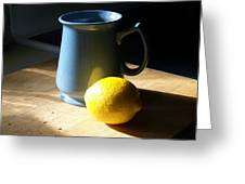 On The Table 3 - Photograph Greeting Card