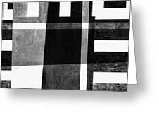 On The Tarmac Designer Series 3a14bwflip Greeting Card