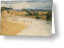 On The Tees At Rockcliffe Greeting Card