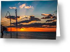 On The Water Front Greeting Card