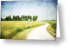 On The Way Through The Summer Greeting Card