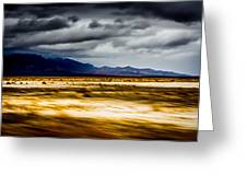 On The Way To Death Valley Greeting Card