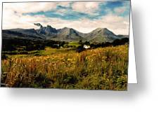 On The Way To Elgol Greeting Card