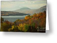 On The Way To Fall Greeting Card