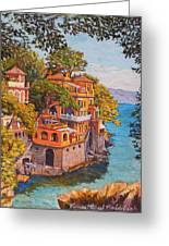 On The Way To Portofino Greeting Card